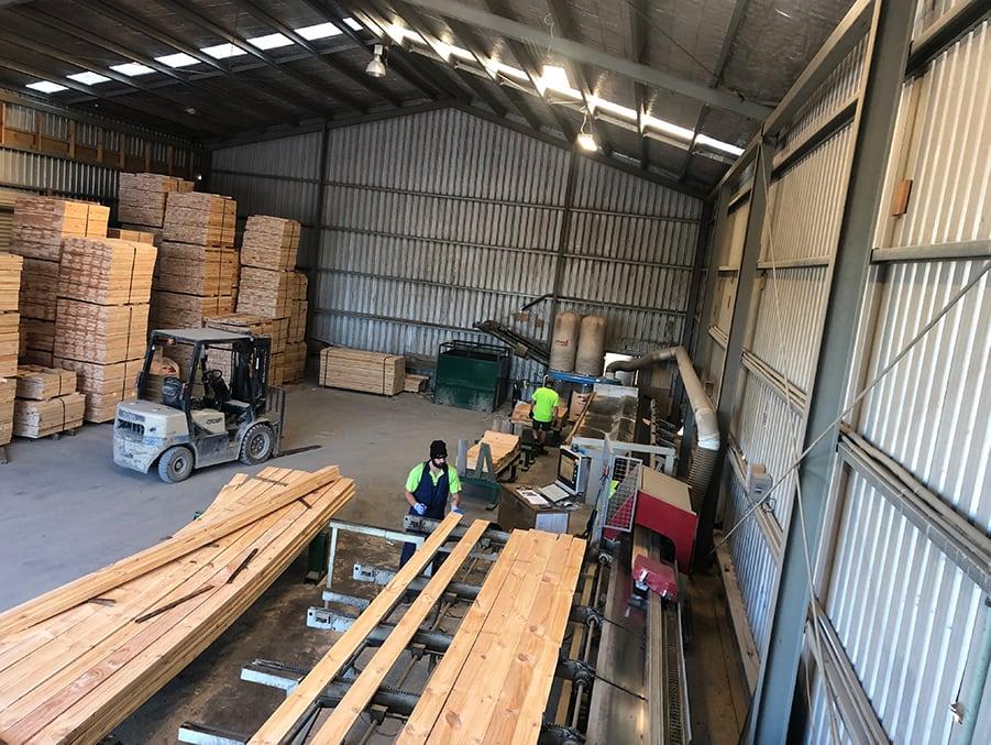 Log planks
